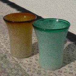 画像1: 泡グラス